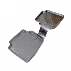 Коврики в салон Skoda Roomster (5J) (06-) (полиуретан) задние