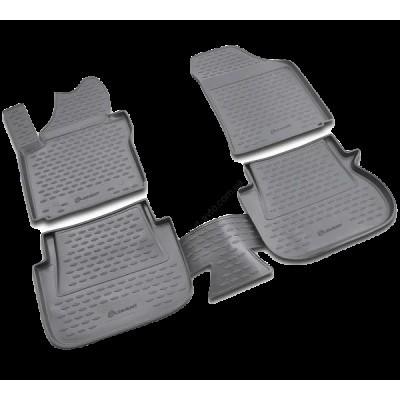 Коврики в салон VW Caddy, 10/2007-> 5 дв. 4 шт. (полиуретан) - NLC.51.37.210K