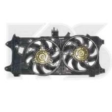 Вентилятор в сборе на FIAT DOBLO 2001-2004