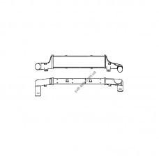 Интеркулер для Mercedes (NRF) FP 46 T79