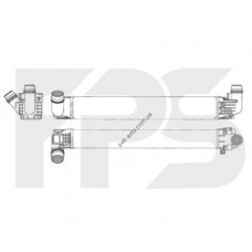 Интеркулер Renault / Dacia Duster (NRF) FP 56 T129-X