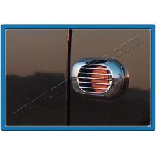 Fiat Fiorino/Citroen Nemo/Peugeot Bipper (2007-) Окантовка повторителей поворота (Abs хром) 2шт