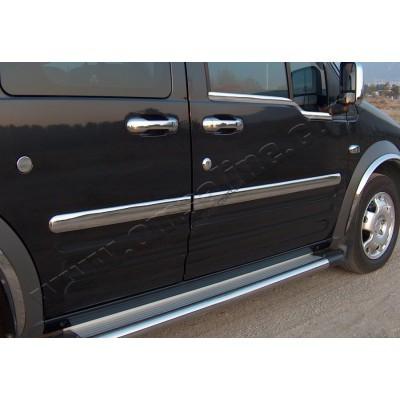 Ford Torneo Connect (2002-) Молдинг дверной 4шт (Длинная база) - 2620132