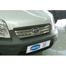 Ford Torneo Connect (2009-) Накладкa на решетку радиатора 1шт