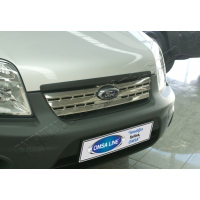 Ford Torneo Connect (2009-) Накладкa на решетку радиатора 1шт - 2622081