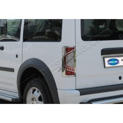 Ford Torneo Connect (2009-) Окантовка на стопы (Аbs хром) 2шт - 2622101