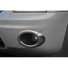 Ford Torneo Connect (2009-) Окантовка противотуманок (Abs хром) 2шт