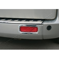 Ford Transit Custom (2012-) Окантовка рефлекторов заднего бампера 2шт