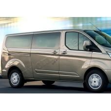 Ford Transit Custom (2012-) Молдинги стекол нижние 8шт (длин./коротк. база)