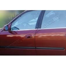 Honda Civic Sedan (2002-2006) Молдинги стекол нижние 4шт