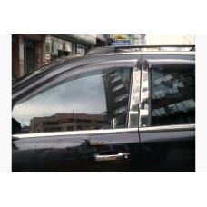 Nissan X-Trail (2008-) Накладки дверных стоек 6шт