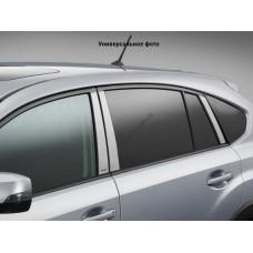 Nissan Pathfinder (2005-2012) Накладки дверных стоек 6шт