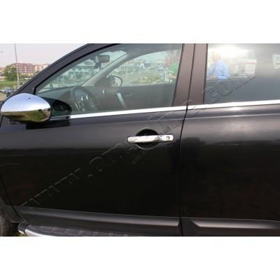 Nissan Qashqai (2007-2014)/Pathfinder/Navara (2005-) Дверные ручки 4-дверный - 5007041