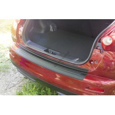 Nissan Juke (2010-) Накладка на задний бампер- Матированный
