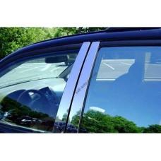 Nissan Juke (2010-) Накладки дверных стоек 8шт