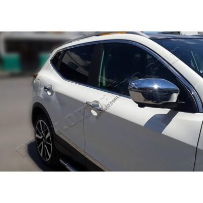 Nissan Qashqai/X-Trail (2014-) Дверные ручки 4-дверный без сенсора - 5023041