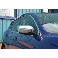 Nissan Qashqai/X-Trail (2014-) Накладки на зеркала (Abs-хром.) 2шт
