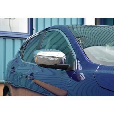 Nissan Qashqai/X-Trail (2014-) Накладки на зеркала (Abs-хром.) 2шт - 5023111