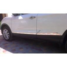Nissan Qashqai (2014-) Молдинг дверной 4шт