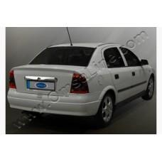 Opel Astra G (1998-) Накладка над номером на багажник