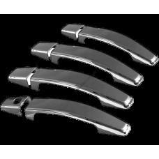 Opel Astra H (2004-2013)/Opel Zafira (2011-) Дверные ручки 4-дверный (Deco) - с рельефом