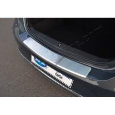 Opel Astra J 5D/3D (2010-) Накладка на задний бампер - Матированный