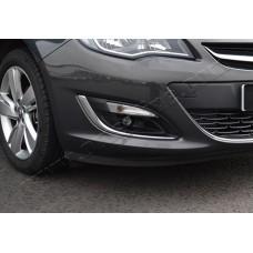 Opel Astra J 5D/3D/SW (2010-) Окантовка противотуманок 2шт