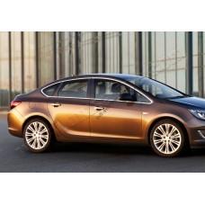 Opel Astra J Sedan (2012-) Окантовка стекол полная 12шт