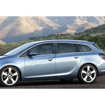 Opel Astra J SW (2010-) Окантовка стекол полная 12шт - 5216148