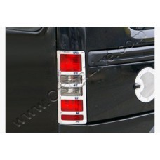 Opel Combo C (2001-2011) Окантовка на стопы (Аbs хром) 2шт