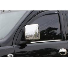 Opel Combo C (2001-2011) Накладки на зеркала (Abs-хром.) 2шт