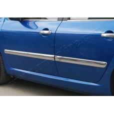 Peugeot 307 5D (2001-2008) Молдинг дверной 4шт