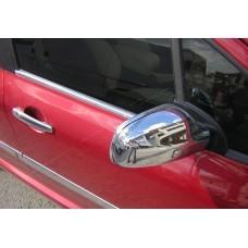 Peugeot 307 5D/SW (2001-2008) Молдинги стекол нижние 4шт