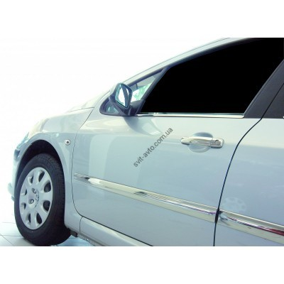 Peugeot 308 5D/SW (2007-2013) Молдинг дверной 4шт - 5709131