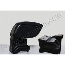 Подлокотник Renault Fluence 2010- /сдвижной,черный/
