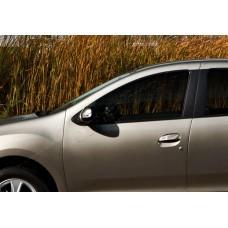 Renault Logan/Sandero (2013-) Накладки на зеркала 2шт