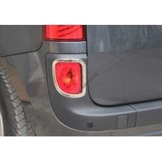 Renault Kangoo/Mercedes Citan (2013-) Окантовка рефлекторов заднего бампера 2шт