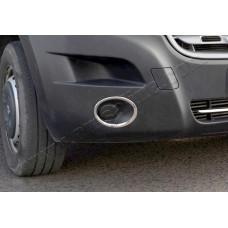 Renault Master/Opel Movano/Nissan NV400 (2010-) Окантовка противотуманок 2шт