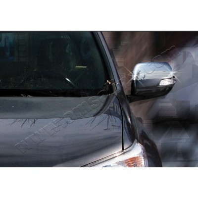 Toyota Land Cruiser Prado 150 (2010-) Накладки на зеркала 2шт - 7013111