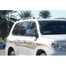 Toyota Land Cruiser 200/LX570 (2008-2012) Накладки на зеркала 2шт