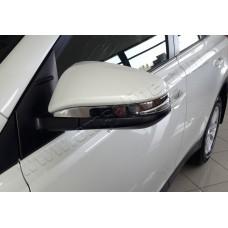 Toyota RAV4 (2013-) Накладки на зеркала 2шт
