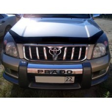 Дефлектор капота (мухобойка) TOYOTA LAND CRUISER PRADO 2001-2008