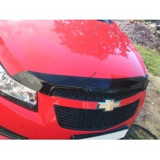 Дефлектор капота (мухобойка) Chevrolet CRUZE 09-