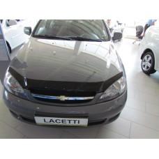Дефлектор капота (мухобойка) Chevrolet LACETTI  hb 2004-
