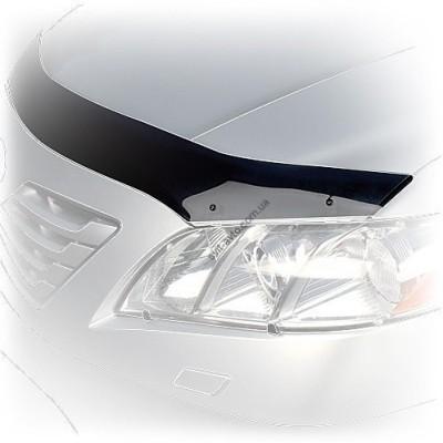 Дефлектор капота (мухобойка) KIA Ceed 2012-,тёмный - SKICEE1212