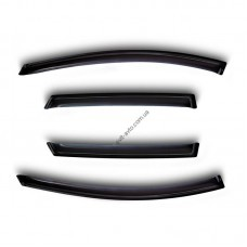 Дефлекторы окон (ветровики) MAZDA CX5, 2012-, 4ч., темный