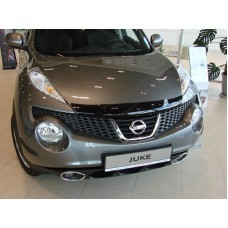 Дефлектор капота (мухобойка) Nissan Juke 2011-