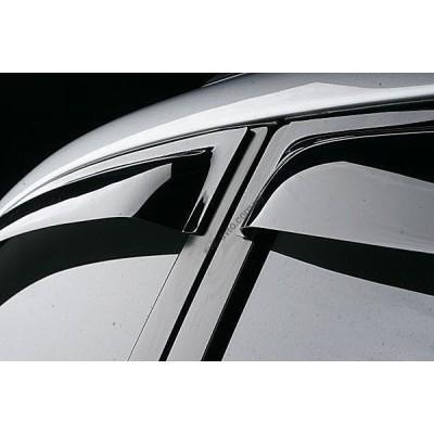 Дефлекторы окон (ветровики) RENAULT Megane 08-, HB, 4ч, темный - SREMEGH0832