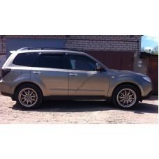 Дефлекторы окон (ветровики) Subaru Forester 2008-2012