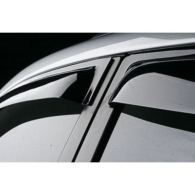 Дефлекторы окон (ветровики) Suzuki SX4 Hb 2013- - SSUSX4H1332
